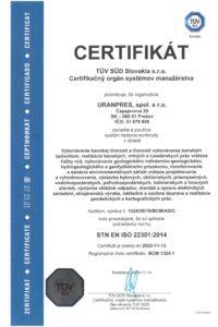STN EN ISO 22301_2014