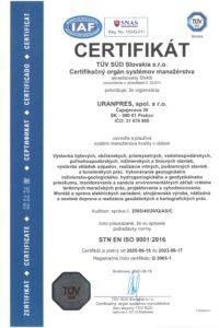 STN EN ISO 9001_2016