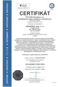 STN ISO_IEC 27001_2014