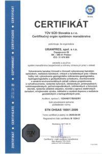 STN OHSAS 18001_2009
